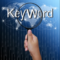 Webdesign - Select keywords