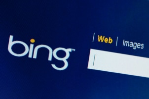 Bing follows in the ranking factors