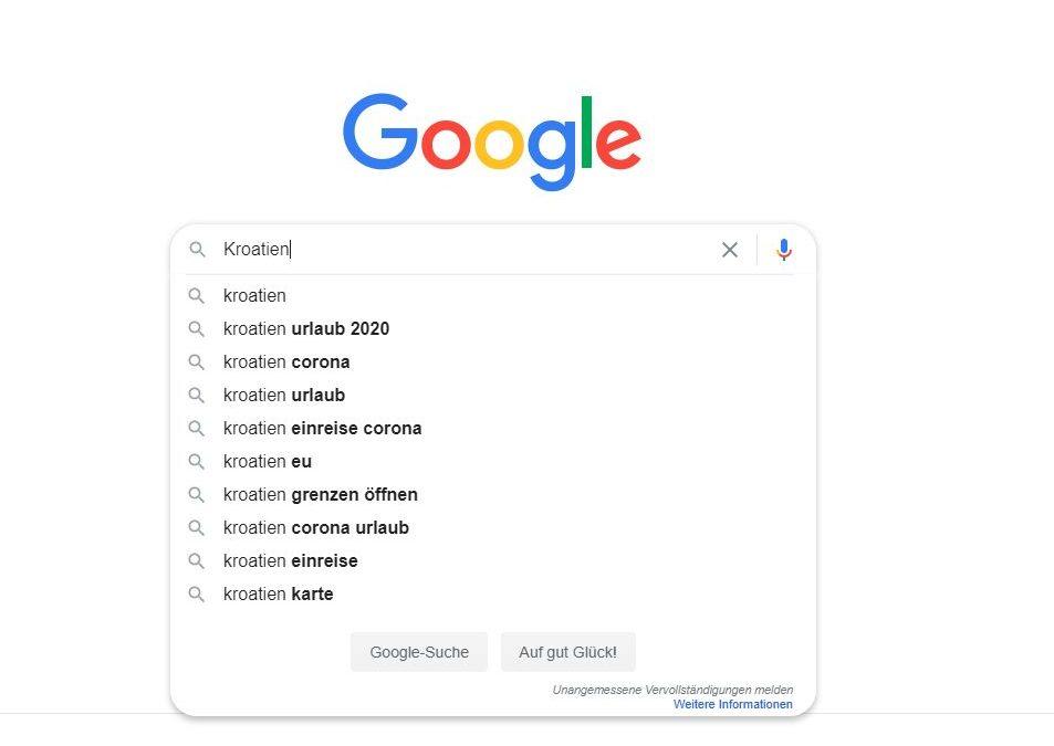 búsqueda orgánica